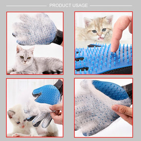 Luva Para Limpeza De Pelos - Gato Caês Pets Cavalos Destro