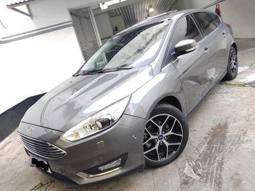 Ford Focus Titanium 2016 Caja Manual Pocos Km Permuto Pd