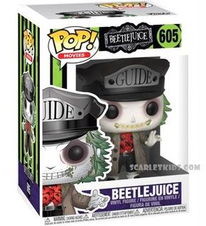 Funko Pop! Beetlejuice 605 Original Funko Pop Scarlet Kids