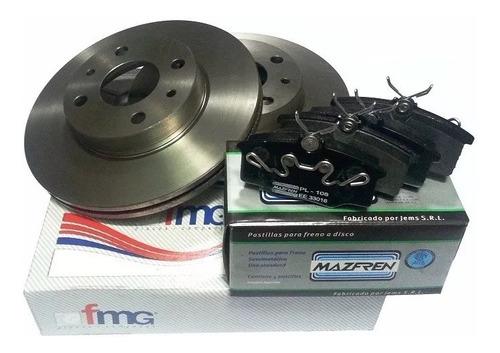 Kit Discos Y Pastillas De Freno Ford F100 Duty C/bulones Del