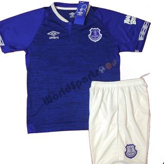 Kit Conjunto Infantil Everton Richarlison - Envio Imediato