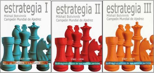 Pack 3 Libros Estrategia Mikhail Botvinnik