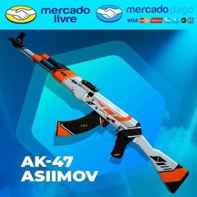 Ak-47   Asiimov - Skin Csgo