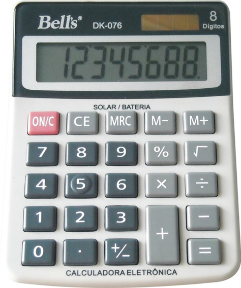 Calculadora De Mesa Bells Dk-076 8 Dígitos
