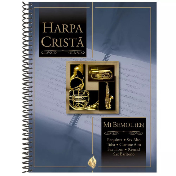 Revista Harpa Cristã Com Música Capa - Mi Bemol (eb) - Cpad