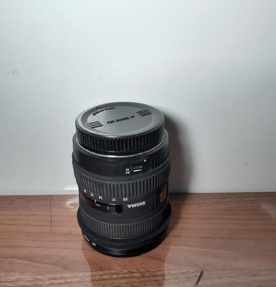 Objetiva Sigma 10-20mm F4-5.6 Ex Dc Hsm P/ Canon- Semi Nova