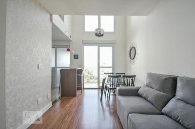 Apartamento No 7º Andar Mobiliado Com 1 Dormitório E 1 Garagem - Id: 892908791 - 208791