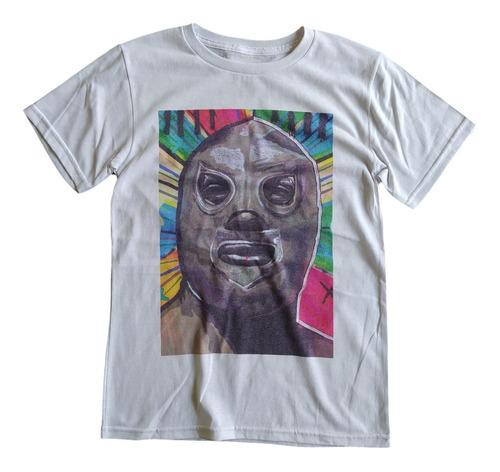 Imagen 1 de 4 de T Shirt Tee King El Santo Playera Retro Hombre