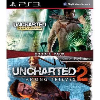 Uncharted Dual Pack 1 Y 2 Español Ps3 Digital