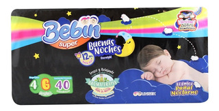Caja De Pañal Buenas Noches Super Grande Con 4 Paquetes