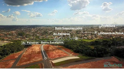 Terreno À Venda, 144 M² Por R$ 79.500 - Eucaliptos - Fazenda Rio Grande/pr - Te0062