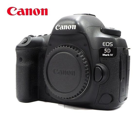 Câmera Canon Eos 5d Mark Iv (4) - Vídeo 4k - Corpo