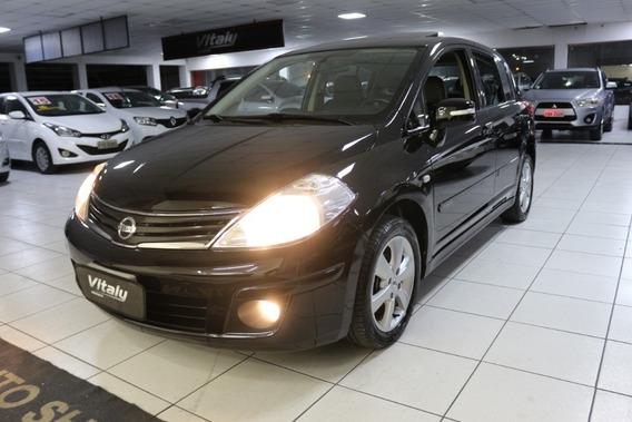 Nissan Tida Sl 2010 Top!!! Teto !!! Novo!!! Baixo Km!!!