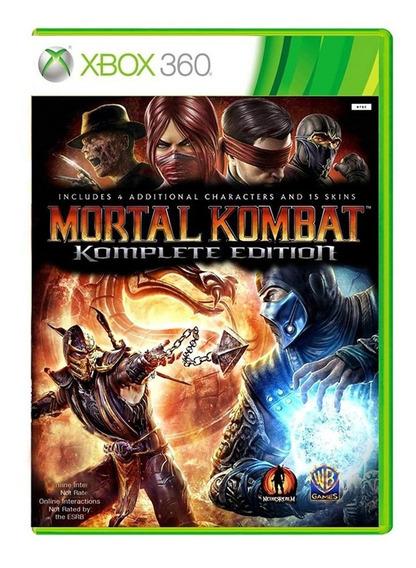 Mortal Kombat 9 Komplete Edition - Xbox 360 - Usado