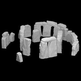 Monumento Stonehenge Miniatura