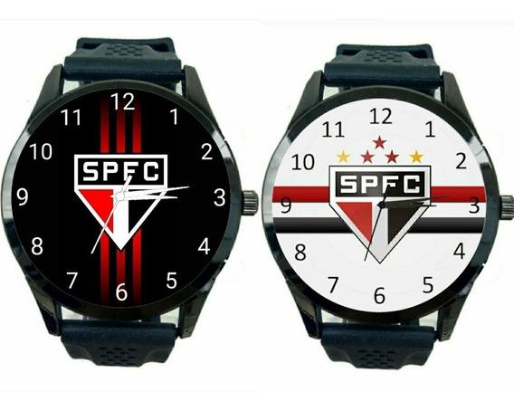 São Paulo Kit 2 Relógios Masculino Promoção Oferta Time T492