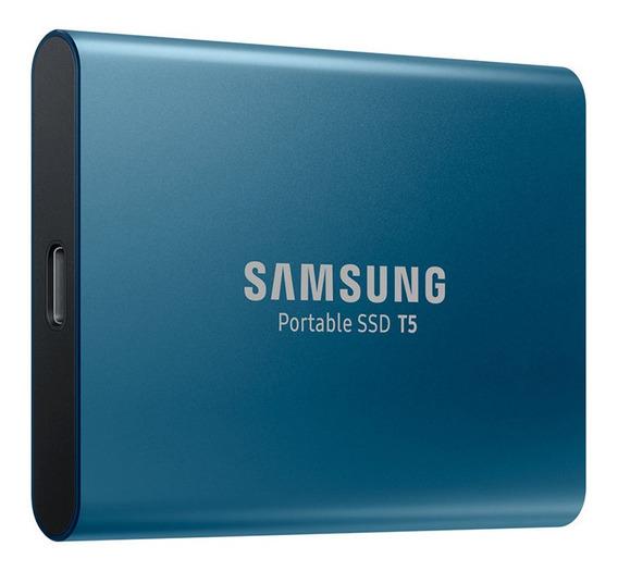 Ssd T5 Samsung Portátil 500 Gb Usb3.1 Hd/ssd Lacrado 12xs/ju