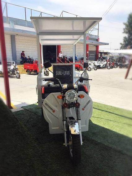 Motocarro 150 Asiento Corrido Con Toldo
