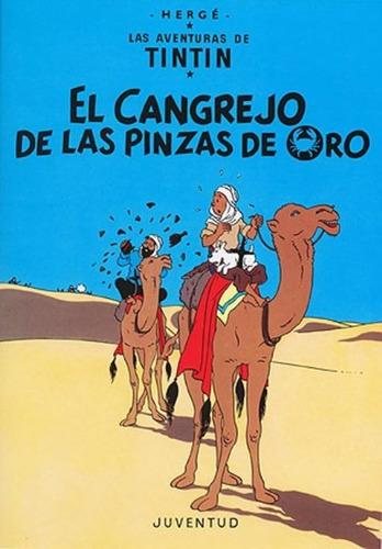Imagen 1 de 3 de El Cangrejo De Las Pinzas De Oro - Tintín, Hergé, Juventud