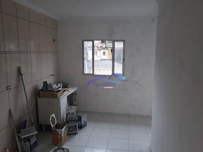 Apartamento Com 2 Dormitórios Para Alugar, 45 M² Por R$ 800/mês - Vila Ester - São Paulo/sp - Ap0140