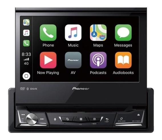 Dvd Player Retratil 7 Pol. Tv Digital Pioneer Avh-z7280tv