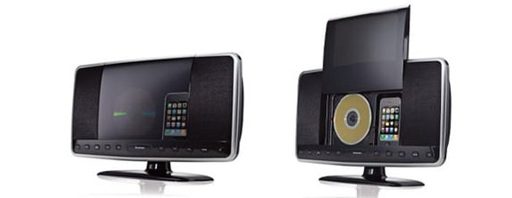 Brookstone Idesign 2 En 1 Reproductor Cd iPod iPhone