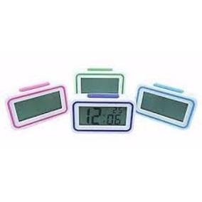 Relógio De Mesa Digital Despertador Iluminado Fala Hora