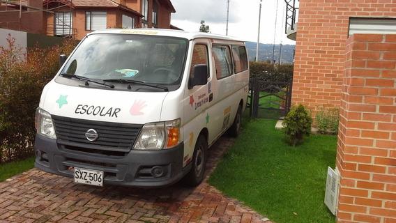 Camioneta Nissan Urvan Transp. Escolar Afiliada Empr. Transp