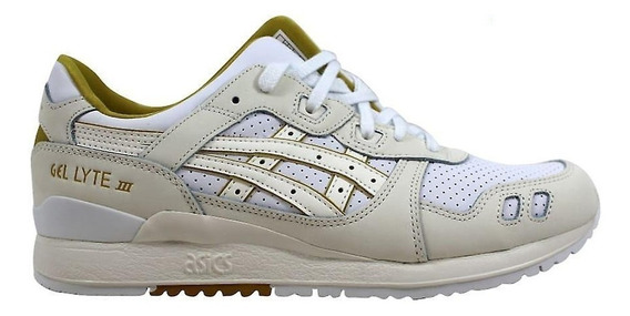 Tenis Asics Hombre Hueso Casuales Gel Lyte Lii H7l3l0100