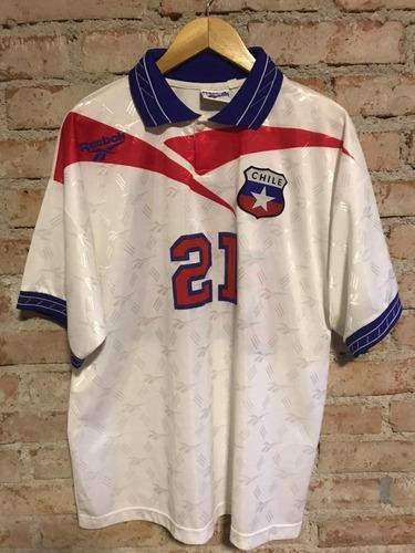 Chile 1997 Uniforme 2 Número 21 Linda