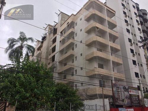 Apartamento Com 1 Dormitório À Venda, 40 M² Por R$ 253.737 - Canto Do Forte - Praia Grande/sp - Ap2595