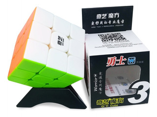 Cubo 3x3 Rubik Qiyi Warrior W + Base Regalo + Envio Gratis