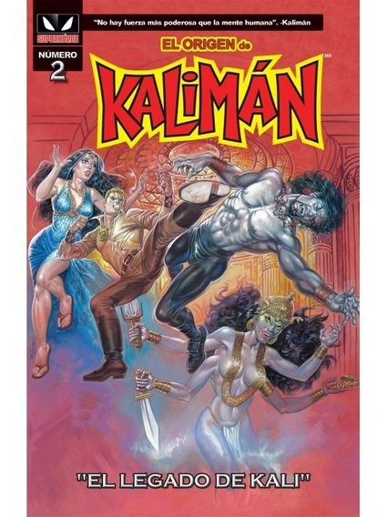 Comic El Origen De Kaliman # 2 El Legado De Kali Sellado