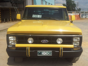 Ford F 1000 Motor Mwm 229 Turbo Ano 89