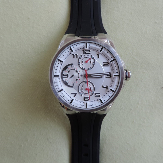 Relógio Orient Mbspm015 Visor Prata Masculino Charmoso Sport