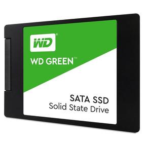 Hd Ssd Western Digital Green 120gb - 2.5 - Wds120g2g0a