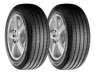 Paquete 2 Llantas 225/55 R19 Pirelli P7 All Season+ 99h Msi