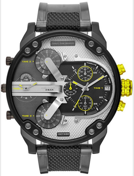 Relógio Diesel Masculino Mr. Daddy Cronógrafo Dz7422