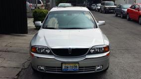 Lincoln Ls 4p Sedan Piel Aut 2001