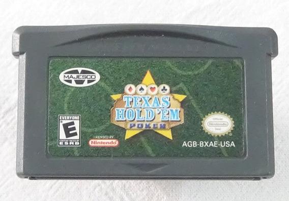 Texas Hold Em Poker Cartucho Para Game Boy Advance Majesco