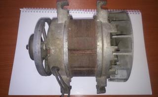 Motor Electrico Monofasico Siam 3/4 - Funciona Perfecto