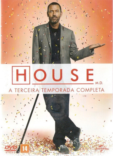 Dvd 6 Discos Dr. House - 3º Temporada Completa