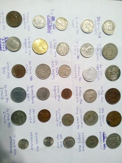 Monedas Varias Internacionales 4 X $685 Eligen De Coleccion