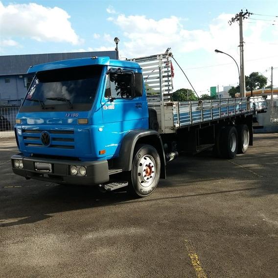 Vw 13-180 Ano 2001 Truck Carroceria