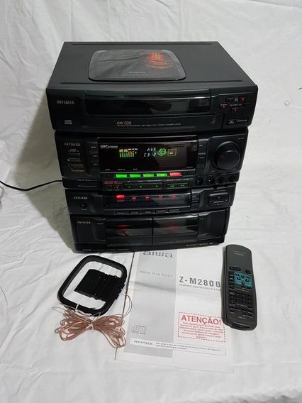 Excelente Micro System Aiwa Model Z-m2800