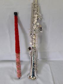 Sax-soprano Seminovo N Yamaha Eagle Shelter Selmer Michael