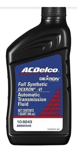 Aceite Dexron Vi (6) Acdelco Full Sintético, Transmisión Aut
