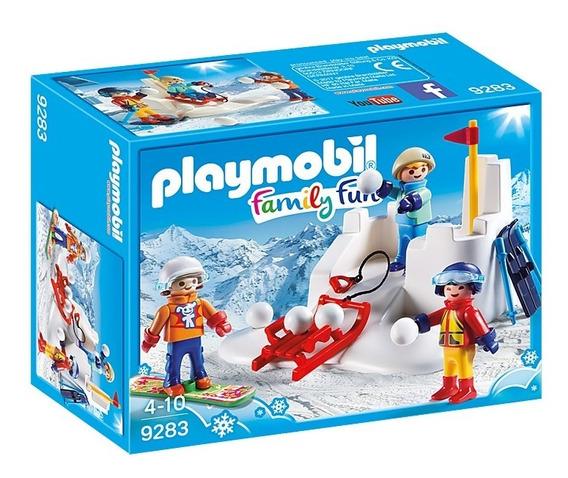 Juego Con Bolas De Nieve- Playmobil