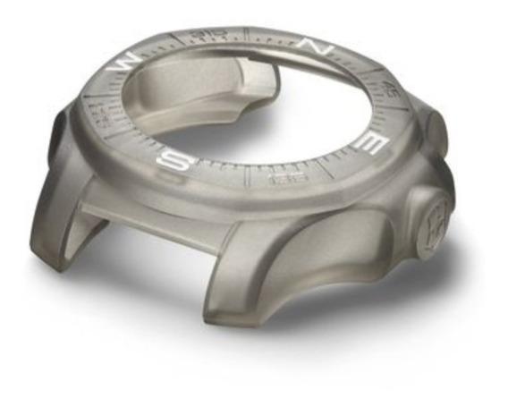 Bumper Protetor Relógio Victorinox Inox Novo E Original