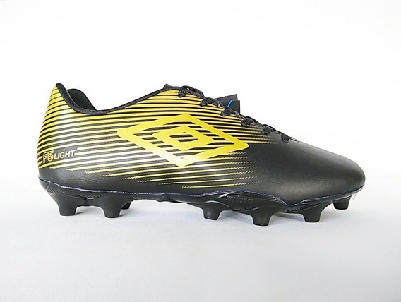 Chuteira Campo Umbro F5 Light Solado Costurado